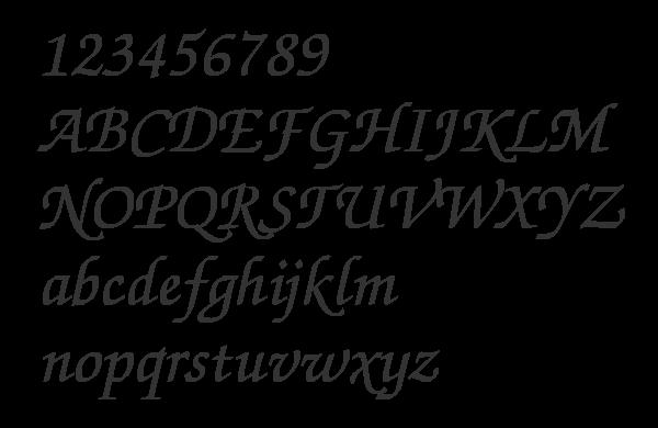 zapfchanceryc шрифт