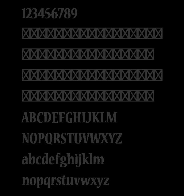 Futura Bt Extra Black Condensed Font - linoainvest