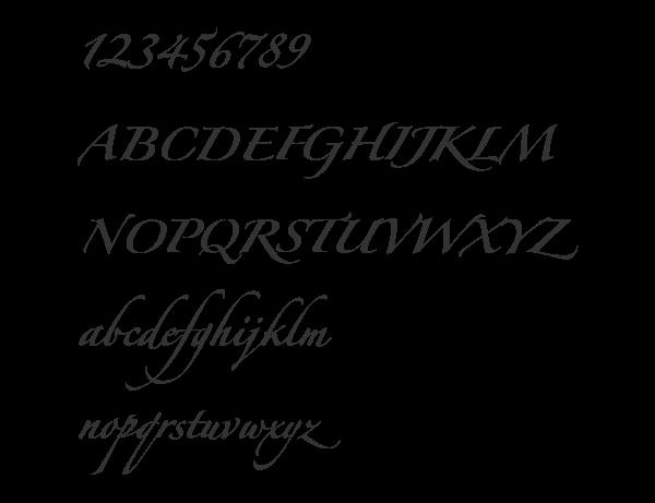 zapfino forte lt one font